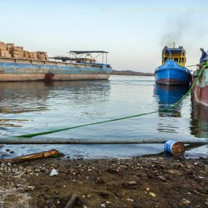 [ironic] beautiful shores of the Nile