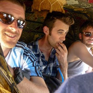 Four of us in the Tuktuk