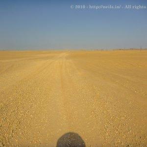 The Nubian Desert route