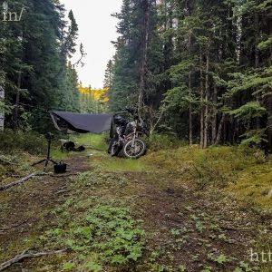 Wild camping near Fairbanks