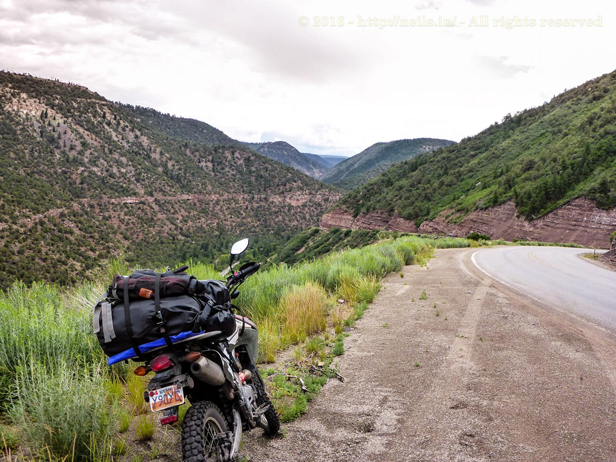 Colorado is much greener than the red of Moab