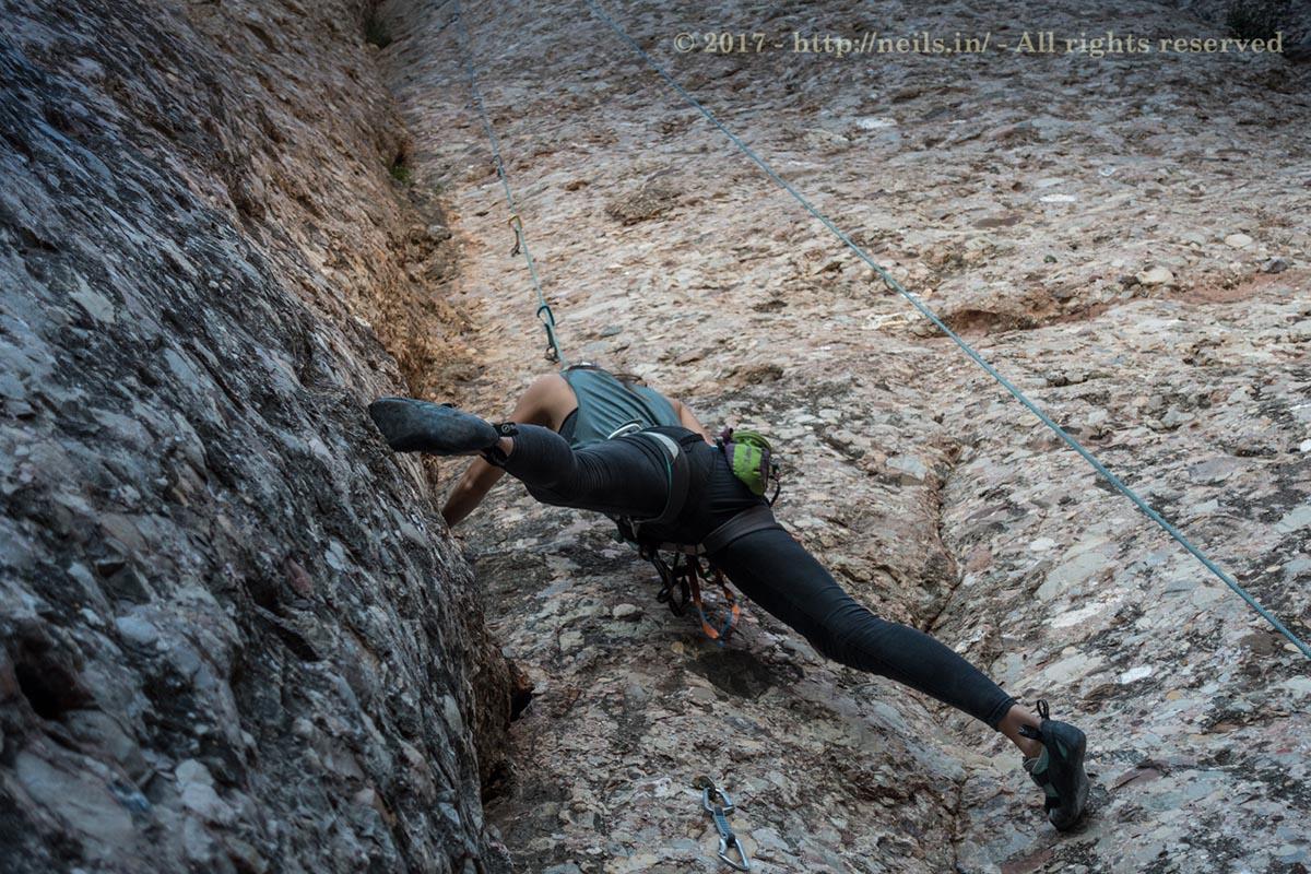 "Anaj demand for ""I need more photos of me climbing"" shot"